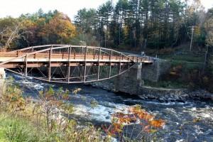 Bow Bridge in Hadley, New York (Oct. 24, 2011)