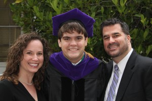 Beaming parents Skip-n-Donna with our son Grant, graduate of the Charleston School of Law