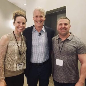 Donna Racette, Jim Dethmer and Dr. Jonathan Yalowchuk at our Leadership Summit in Orlando, January 2019